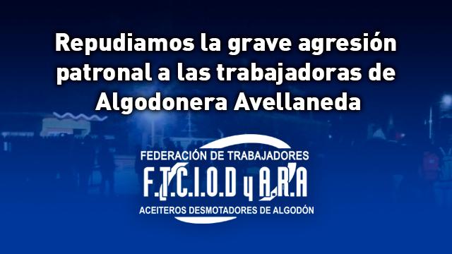repudio_agresion_algodonera_avellaneda_destacada