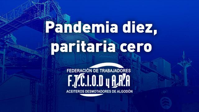 pandemia diez paritaria cero