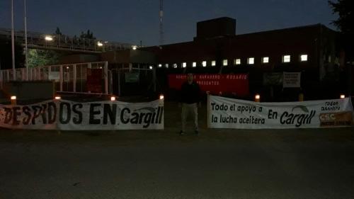 Compañeros del complejo de Cargill Villa Gobernador Gálvez - Punta Alvear.