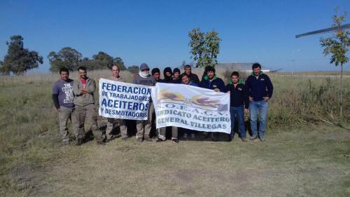 Compañeros de Oleaginosa Moreno y Pampa Bio, General Pico.
