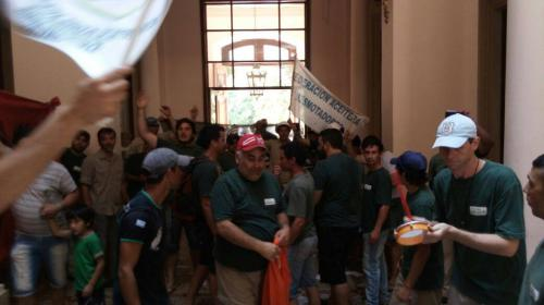 Histórica marcha aceitera en Gualeguaychú
