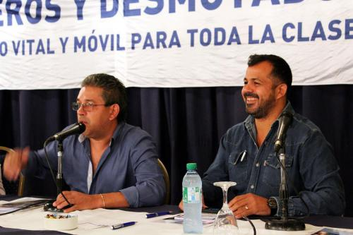 Adrián Dávalos y Miguel Ferreyra.