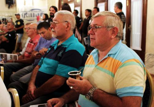 Noveno Plenario de Delegados. Compañeros del sindicato de General Deheza.