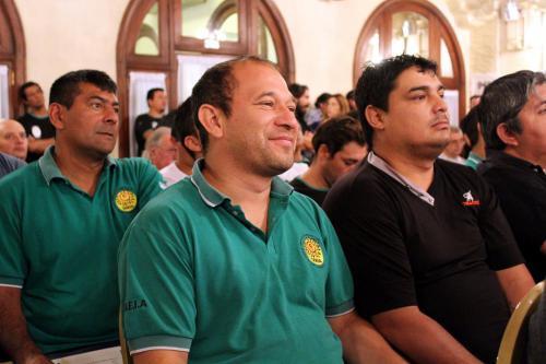 Noveno Plenario de Delegados. Compañeros del sindicato de Capital y GBA.