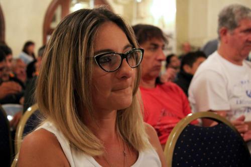 Noveno Plenario de Delegados. Compañera Laura Mehring del sindicato de Esperanza.