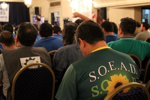 Noveno Plenario de Delegados.