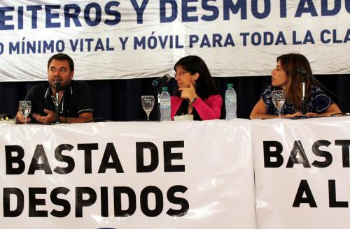 Panel Batalla cultural del movimiento obrero.