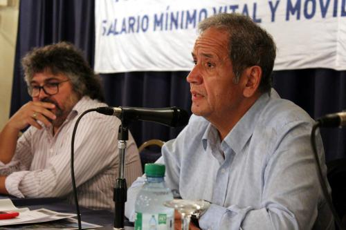 Panel: Rol del dirigente y actualidad del movimiento obrero. Habla Sergio Palazzo, Secretario General de la Asociación Bancaria.
