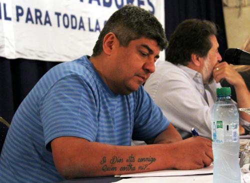 Panel: Rol del dirigente y actualidad del movimiento obrero. Pablo Moyano, Camioneros.