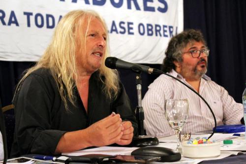 Panel: Rol del dirigente y actualidad del movimiento obrero. Habla Rubén Sobrero, UF Haedo.