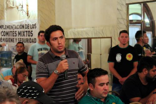 Panel: Rol del dirigente y actualidad del movimiento obrero.