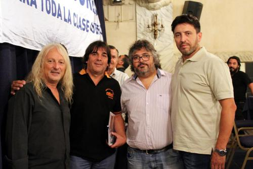 Rubén Sobrero, Daniel Coca, Daniel Yofra y Juan Domínguez