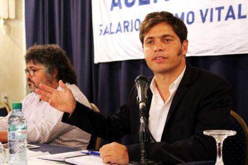 Panel: La política económica del gobierno de Macri. Impacto en la clase trabajadora. Con Axel Kicillof. Coordinador: Sergio Arelovich.