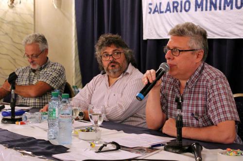 Panel: La coyuntura económica y la clase trabajadora. Con José Castillo y Julia Strada. Coordinador: Sergio Arelovich.