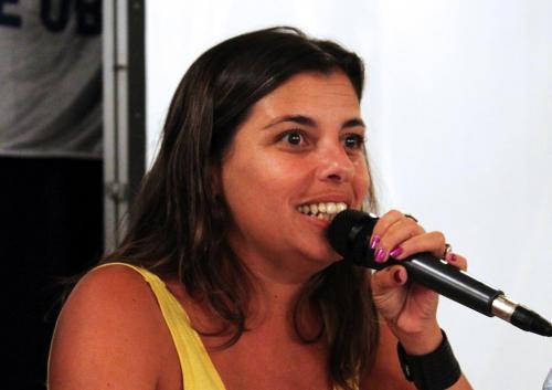 Giselle Santana, Junta Interna ATE INTI.