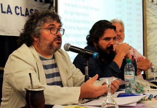 Daniel Yofra, Carlos Zamboni, Sergio Arelovich.